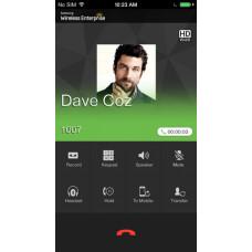 Карта активации 1 iOS приложения Samsung WE VoIP клиент для OfficeServ 7070, 7100, 7200, 7400